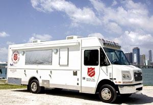 salvation army disaster relief hurricane isaac